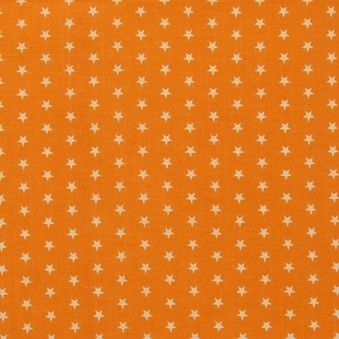 TISSU FROU-FROU ETOILES Orange FONCE 2900-0-109 petite image